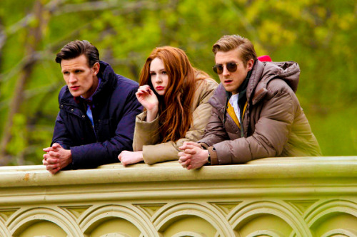 the ponds and the doctor. nothing could break them apart.