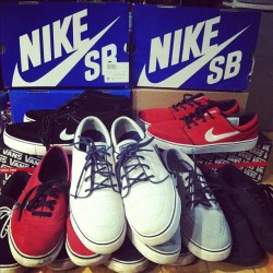 Some of my janoski (Taken with instagram)