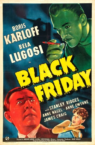 · Black Friday 'Viernes 13' (1940).