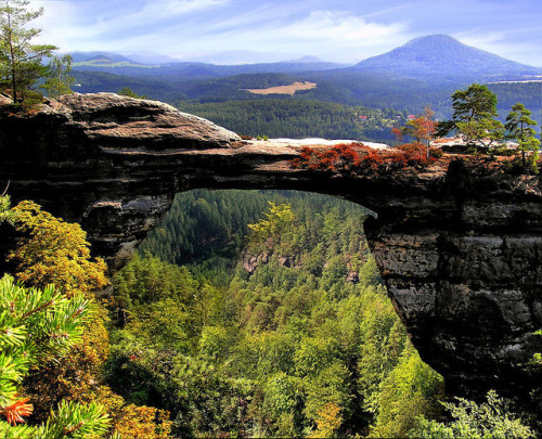 Bohemian Switzerland by B℮n on Flickr.