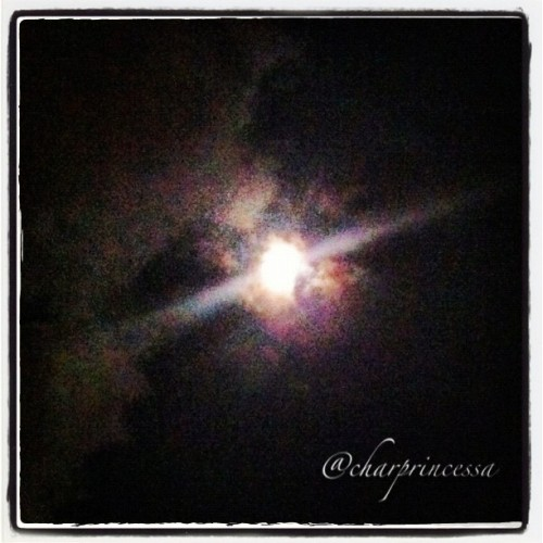 The Moon Over Pearl Harbor #HNL #808 #instagram #instagood #iphone4 #igers #iphoneonly #nightsky #moon #clouds #cloudporn #Asgard #PearlHarbor #Hawaii #instagood (Taken with Instagram at USS Arizona Memorial)