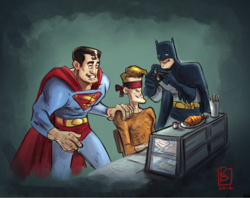 Justice League Fun by Patrick Ballesteros