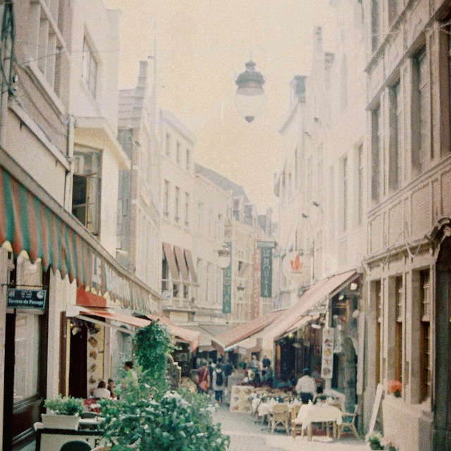 travelingcolors:  Brussels caught on film | Belgium (by sma_kee)  It's happening