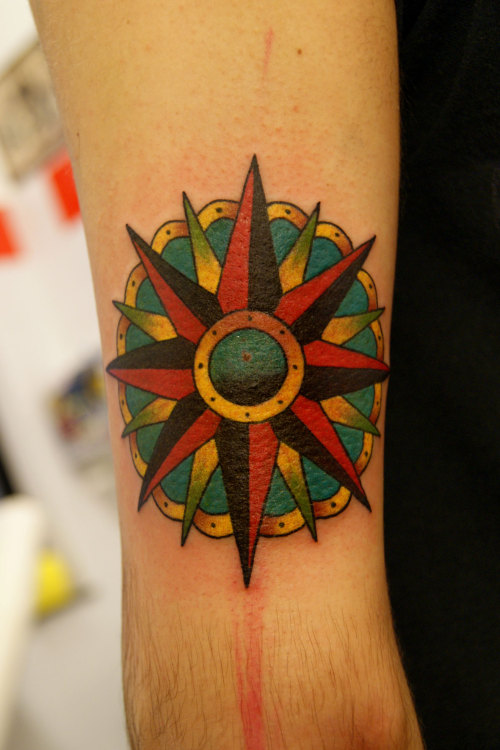 Compass Rose.Mauro Quaresima