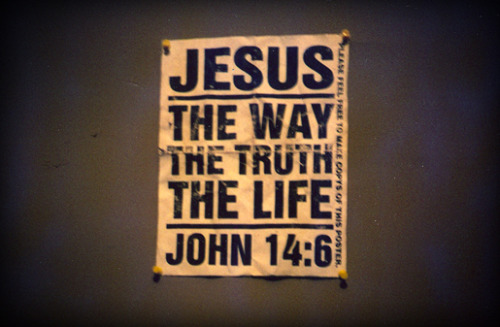 Jesus, the way, the Truth and the Life. John 14:6..Happy Sunday Fam