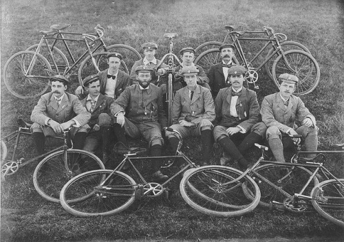 Palace Emporium Bicycle Club. Century riders - Sydney area, NSW, July 1899 by State Library of New South Wales collection on Flickr.