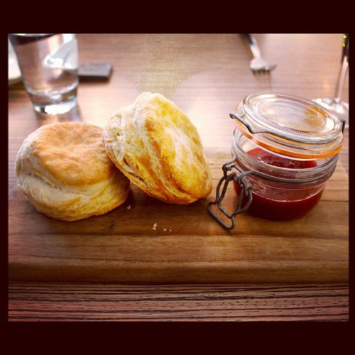 Biscuits and jelly! #breakfast   (Taken with instagram)