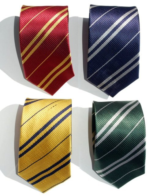 funniest10k:  Harry Potter Hogwarts House Ties, sold at the Wicked Clothes shop. Buy all four and save! And if you order now and use coupon code '1000NOTES', you can get an EXTRA 10% off your ENTIRE order!