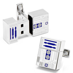 walyou:  USB Flash Drive R2D2 Cufflinks