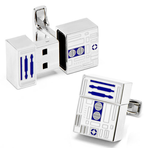 USB Flash Drive R2D2 Cufflinks