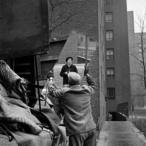 Vivian Maier  Self Portrait, February, 1955
