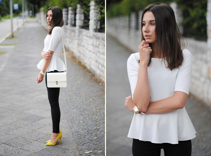 lookbookdotnu:  PEPLUM TOP (by Patrycja R)