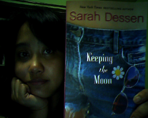 Still on my quest for the happies. Currently reading Keeping the Moon by Sarah Dessen. This was a post by Kubi who is always stuck in second gear*. *You know where this is from :)