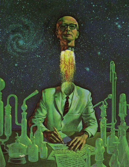 steroge:  Cover art from Great science fiction by scientists (Collier Books, 1962) by Don Ivan Punchatz*