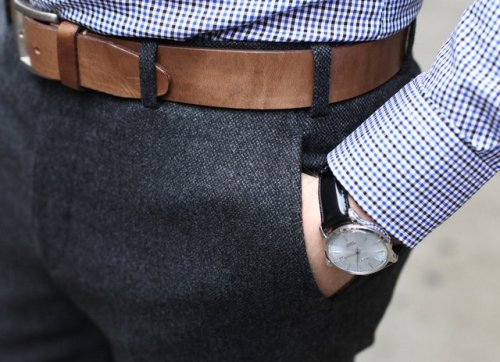 belts are for guys who's pants don't fit.