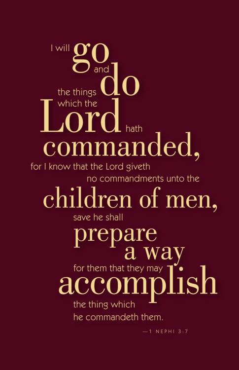 June 2012's scripture the LDS Primary children will be memorizing.