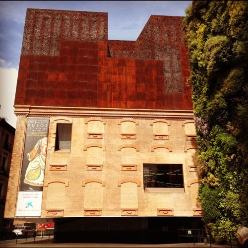 CaixaForum (Taken with Instagram at CaixaForum Madrid)