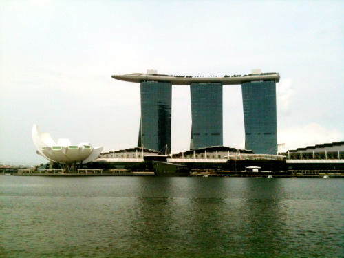 Marina Bay Sands hotell, Singapore