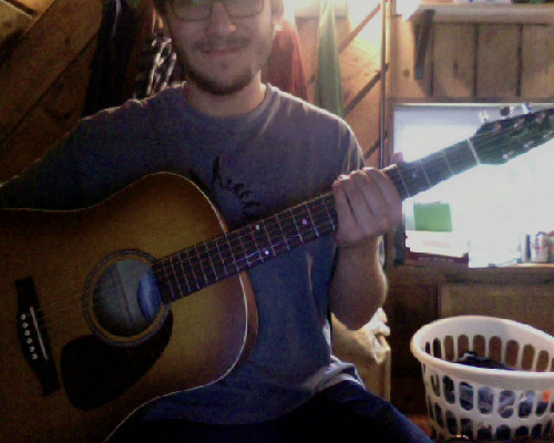 Check out my beautiful new guitar :D