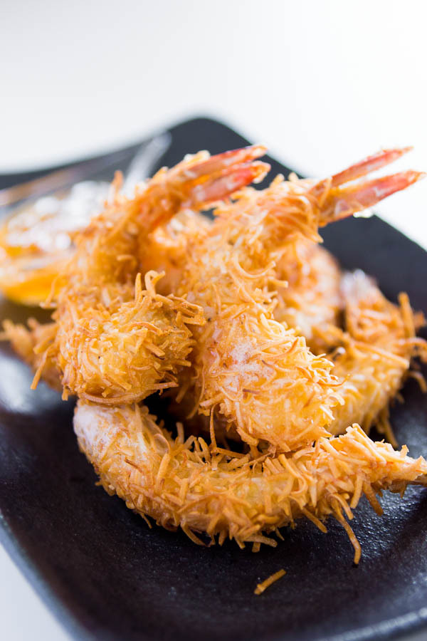 foodopia:  coconut shrimp with spicy orange sauce: recipe here  I must try this recipe…  it's making my mouth water just looking at it.