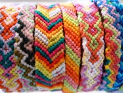 Summer friendship bracelets from $5 to $12 and free shipping within the US at Kiwi Rio Etsy