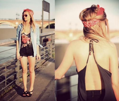 lookbookdotnu:  Adenorah - Sunset (by Adenorah M)