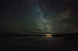 Loch full of Stars by Stewart Watt on Flickr.Stars reflecting in a very calm and peaceful Loch More.