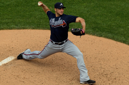 Brandon Beachy leads the NL in ERA, by mixing in four quality pitches. Story here: http://www.baseballrealitytour.com/2012/06/mlb-pitchers-with-best-stuff.html