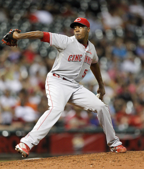 Aroldis Chapman's fastball is taking MLB by storm.