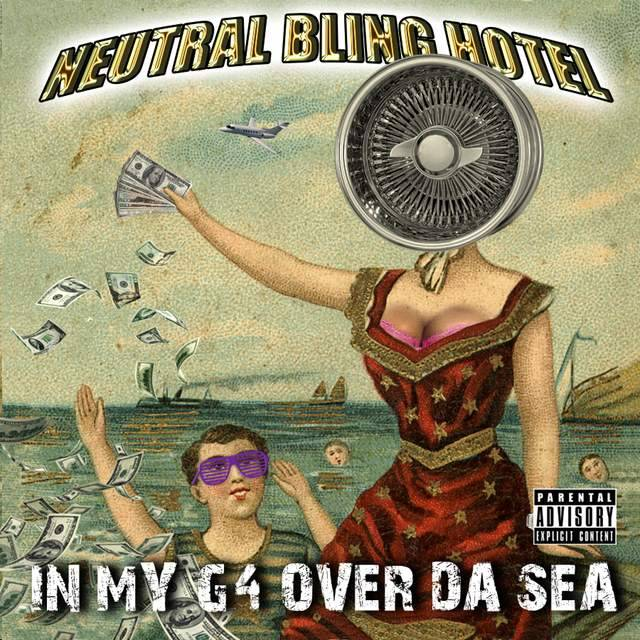 In My G4 Over Da Sea hip hop mashups of Neutral Milk Hotel's album, In The Aeroplane Over The Sea here