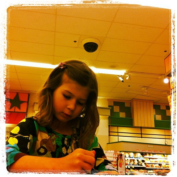Grocery List #watchingwatchers http://instagr.am/p/Lav6M2vgJB/