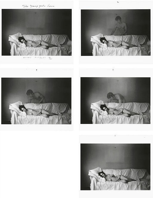 The Young Girl's Dream by Duane Michals, 1969Also