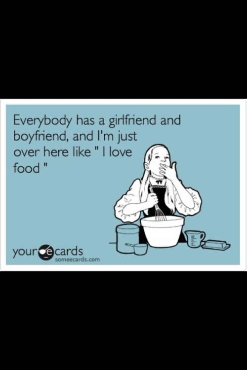 No love. Food Love!