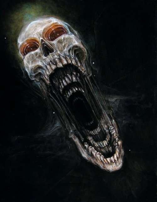 mydarkenedeyes:  Brian Smith Oil on Masonite. (2012)