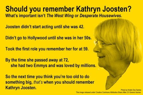 dahliadoll:  Fucking inspirational. Kathryn Joosten (December 20, 1939 – June 2, 2012)  Shit.
