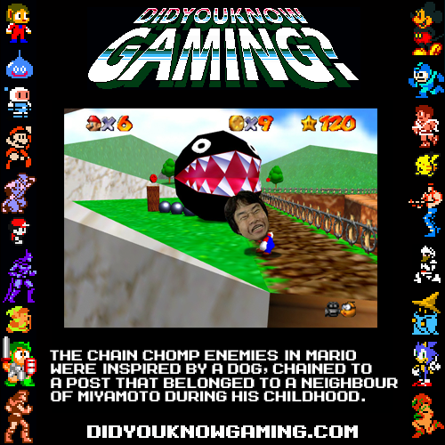 didyouknowgaming:  Super Mario Bros.