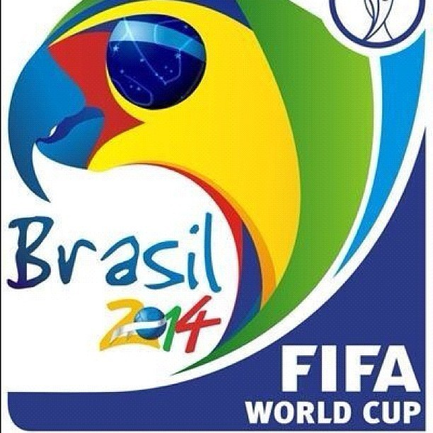 #World #Cup #2014 #Brazil #Symbol … #Samba see you in 2 years  (Taken with instagram)