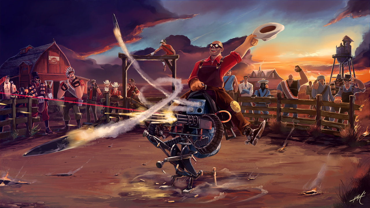 zhatdoktor:  RED Rodeo Ranch- TF2by ~aokera