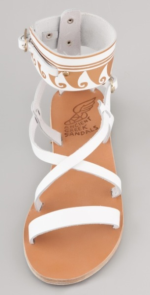 Lovin these summer sandals by Ancient Greek Sandals!