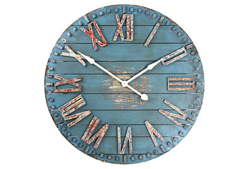 Another One Kings Lane Product I beat to the punch!  This clock was listed at $299 and is now sold out.  The clock I created on my post Project: Custom Clock was $60 + paint.  Not bad, eh?  Just motivation to keep up the cheap and chic work….