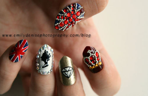 Diamond Jubilee Nails! Read more -