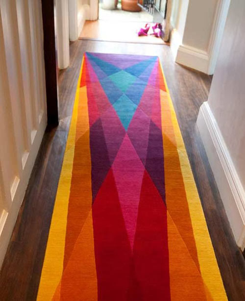 stcheese: colorful rugs by  SONYA WINNER
