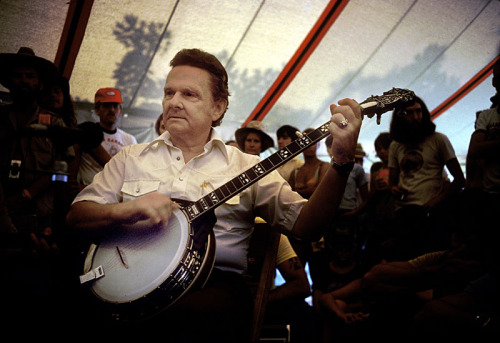 Ralph Stanley, 1980. For more great pics, go here