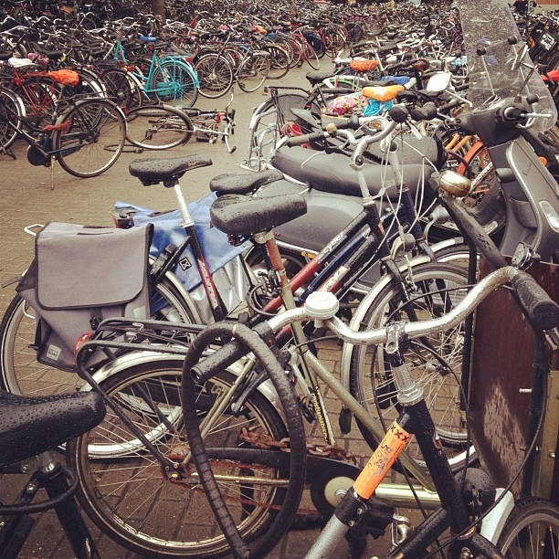 Did you know there are more bikes than people in Amsterdam?