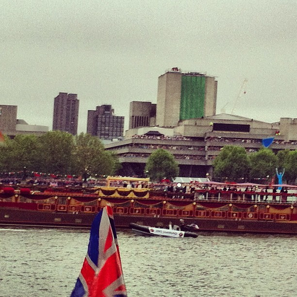 #jubilee #queen boat (Taken with instagram)