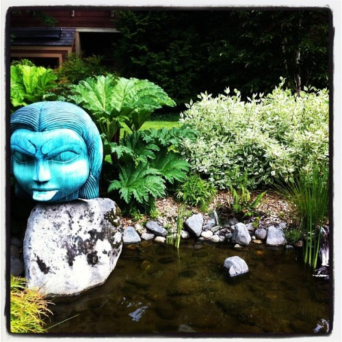 Northwest Native American gardens. (Taken with instagram)