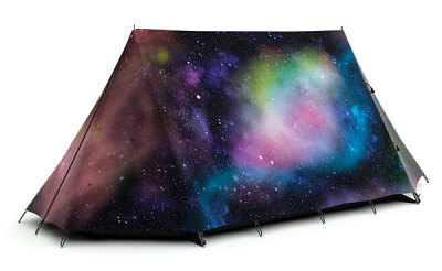 laughingsquid:  Outer Space Camping Tent
