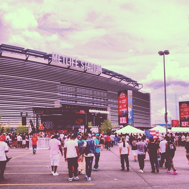 Met Life Stadium#Summerjam2013 (Taken with Instagram at MetLife Stadium)