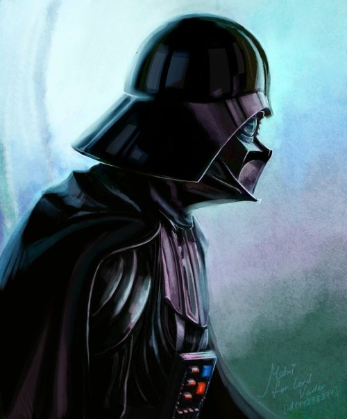 geekpride:  Darth Vader by Mabiruna (via tusken-raiders)
