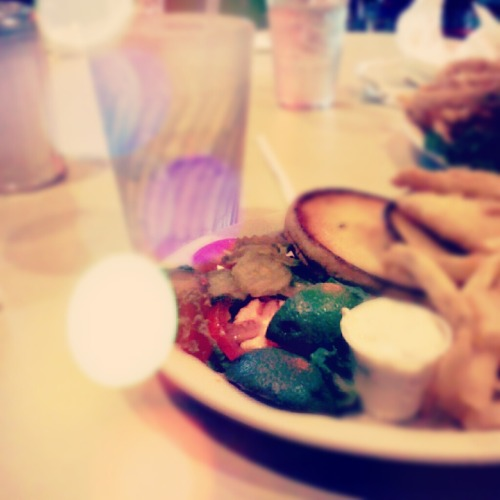 3. On your plate [fish sandwich] #photoadayjune